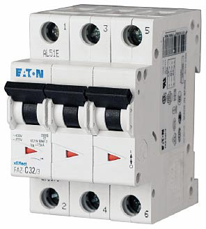 Eaton Moeller Faz D50 3 Supplementary Circuit Breaker
