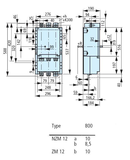 klockner moeller nzm12 800 zm12 800 na circuit breaker Pacific Scientific Wiring Diagram