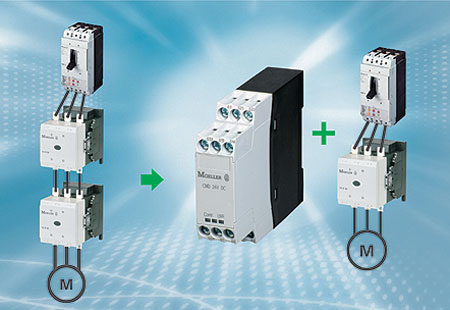 Moeller Electric Contactor Monitoring Relay