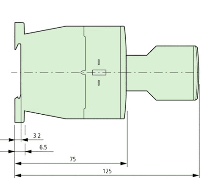 DILM9 Side Dimensions