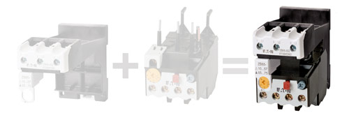 XEZ EZ base only eaton moeller zb65 40 ez thermal overload relay  at edmiracle.co