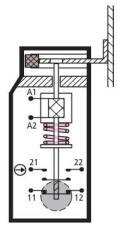 Eaton moeller at0 02 120amt zbz x mechanical interlock switch for 120 volt magnetic door switch